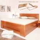 Postel DELUXE 3 úložný prostor, Kolacia Design