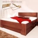 Zvýšená postel DELUXE 4 VÝKLOP, Kolacia Design