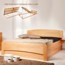 Zvýšená postel EVITA 4 VÝKLOP, Kolacia Design