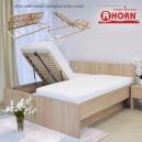 Zvýšená postel TROPEA VÝKLOP, Ahorn