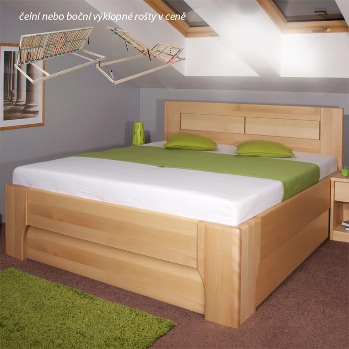 Postel OLYMPIA 3 úložný prostor, Kolacia Design