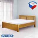 Zvýšená postel VICTORIA masiv buk, Purtex