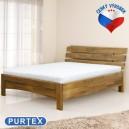 Zvýšená postel AVA masiv buk, Purtex
