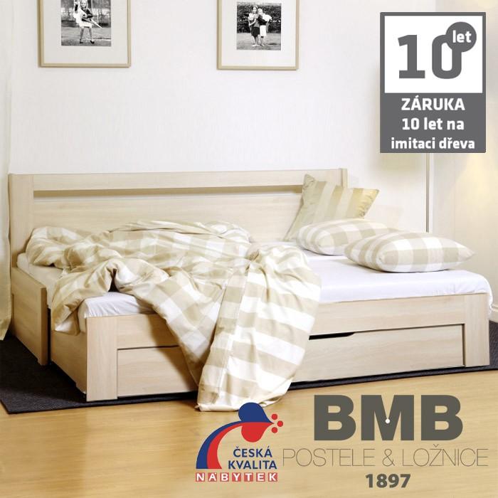 Rozkládací postel TINA TANDEM PLUS lamino, BMB