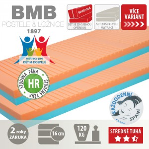 Matrace ELENA k rozkládací posteli, BMB