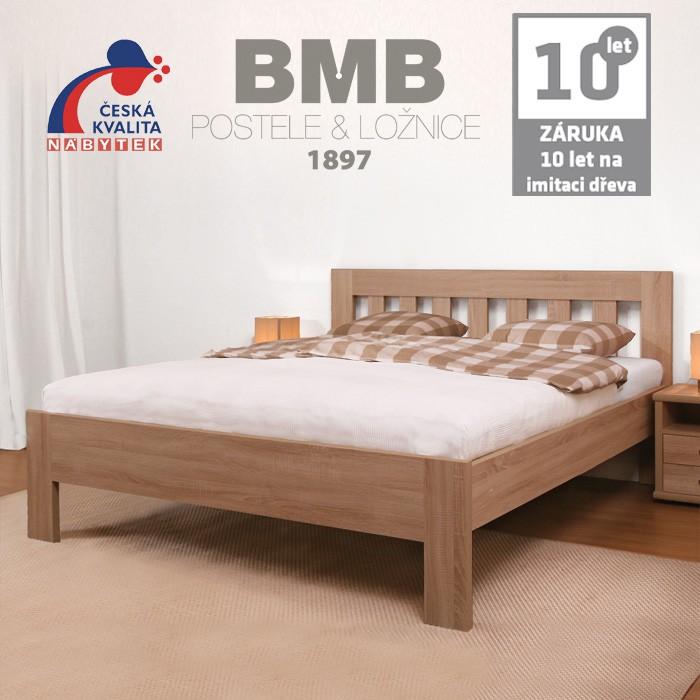 Zvýšená postel ELLA DREAM lamino, BMB