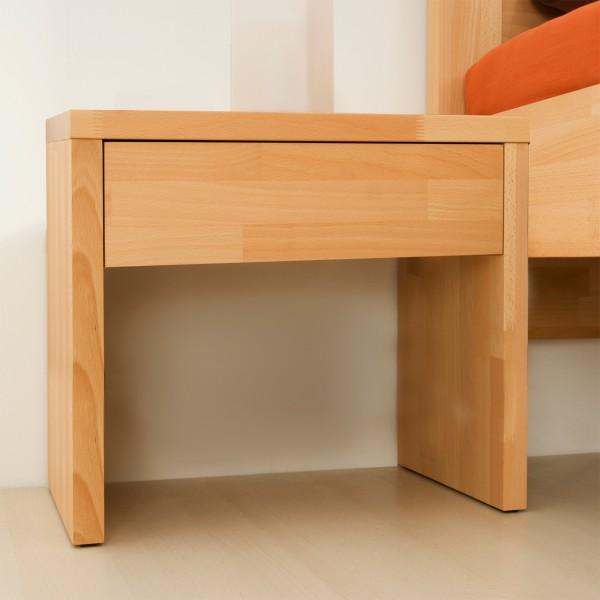 Noční stolek KLASIK masiv buk, BMB