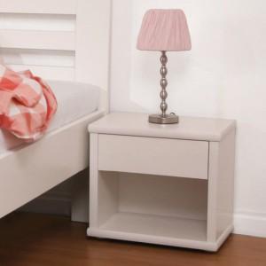 Noční stolek ŠIROKÝ lamino, BMB