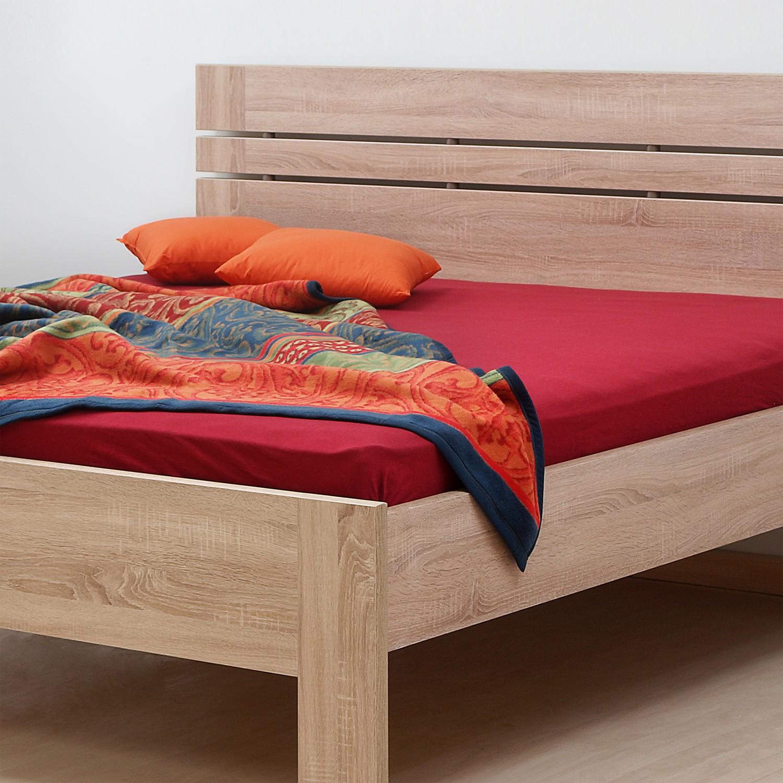 Zvýšená postel ELLA LUX lamino s rovnými rohy, BMB