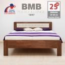 Zvýšená postel DENERYS STAR masiv buk, BMB