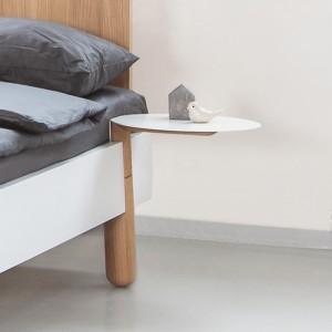Noční stolek MAMMA dřevo / kov, Jitona