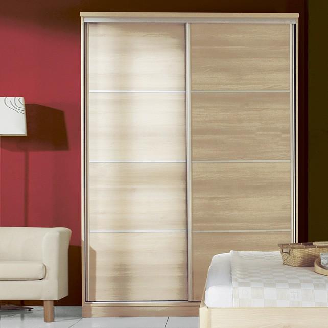 Šatník posuvné dveře, 150 cm, lamino, BMB