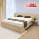 Zvýšená postel SALINA lamino, Ahorn