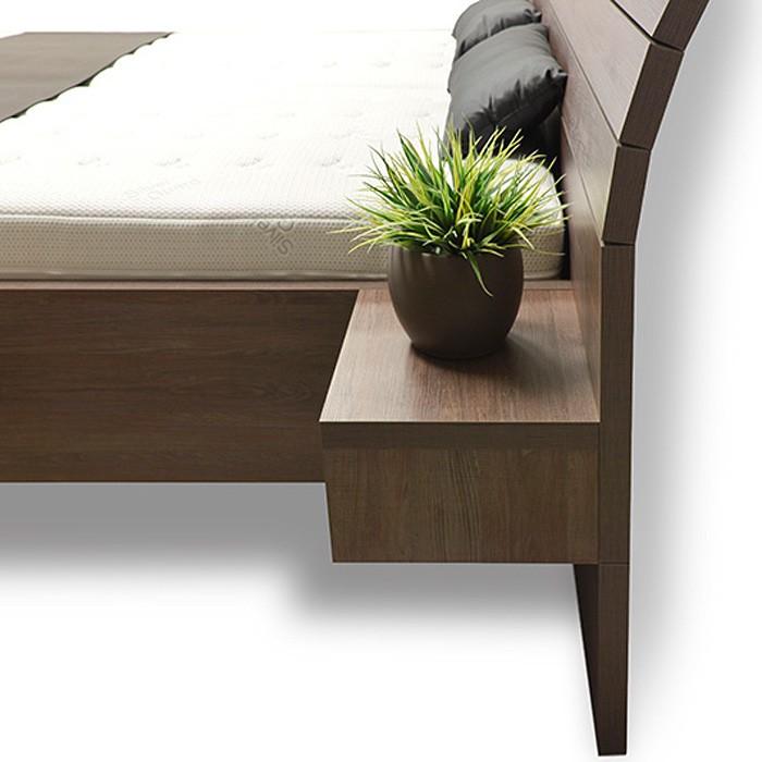 Zvýšená postel SALINA BOX, Ahorn