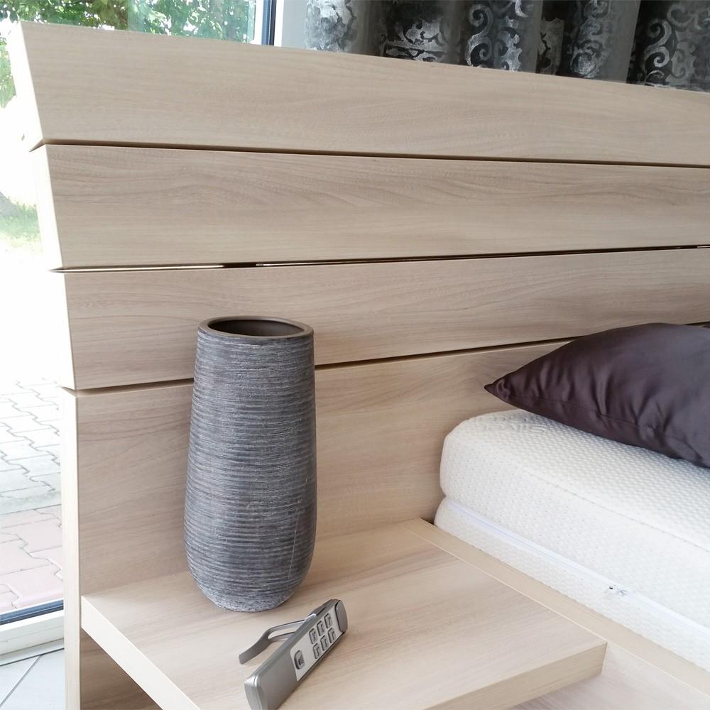 Zvýšená postel SALINA VÝKLOP, Ahorn