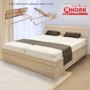 Zvýšená postel SALINA BASIC VÝKLOP lamino, Ahorn