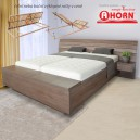 Zvýšená postel SALINA BOX VÝKLOP lamino, Ahorn