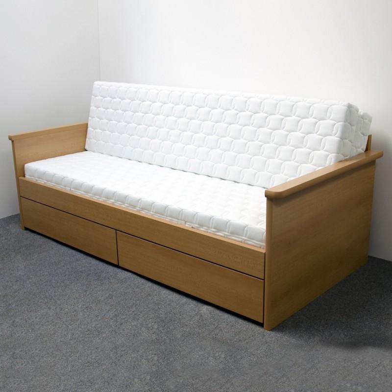 Rozkládací postel JORA TANDEM KLASIK lamino buk, BMB