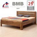 Zvýšená postel ADRIANA LUX masiv dub, BMB
