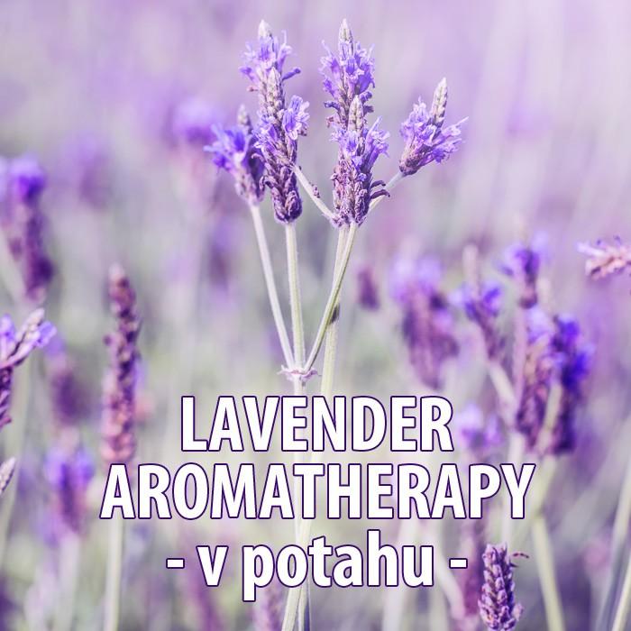 Levandulová matrace Swiss Magic - detail potahu Lavender