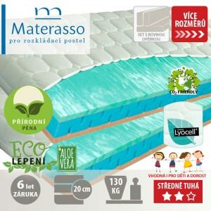Matrace PARTNER BIOGREEN 20 k rozkládací posteli, Materasso