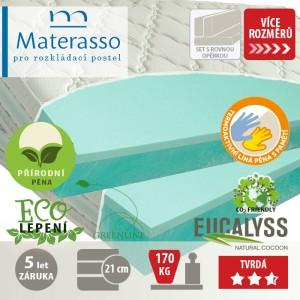 Matrace VISCOGREEN LUX k rozkládací posteli, Materasso