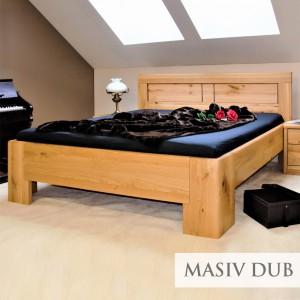 Zvýšená postel HOLLYWOOD 2, masiv dub rustik, Kolacia Design