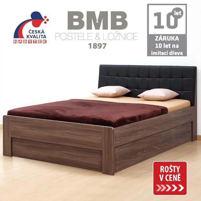 Zvýšená postel DENERYS PARADISE VÝKLOP lamino, BMB