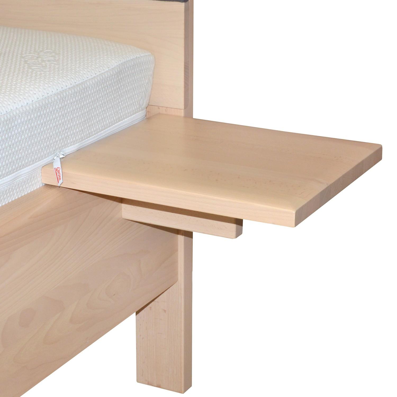 Závěsný noční stolek GALAXY police masiv BUK, Ahorn
