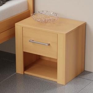 Noční stolek 1-zásuvkový, Ekointeriér