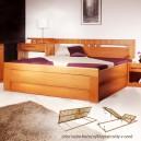 Zvýšená postel ARLETA 1 VÝKLOP, Kolacia Design