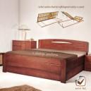 Zvýšená postel EVITA 3 VÝKLOP, Kolacia Design