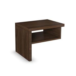 Noční stolek L s nikou - dýha, Jitona