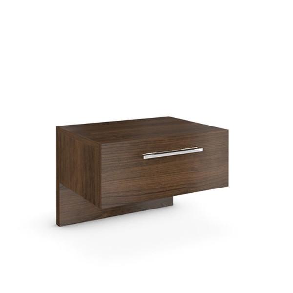Noční stolek se zásuvkou - dýha ořech, Jitona