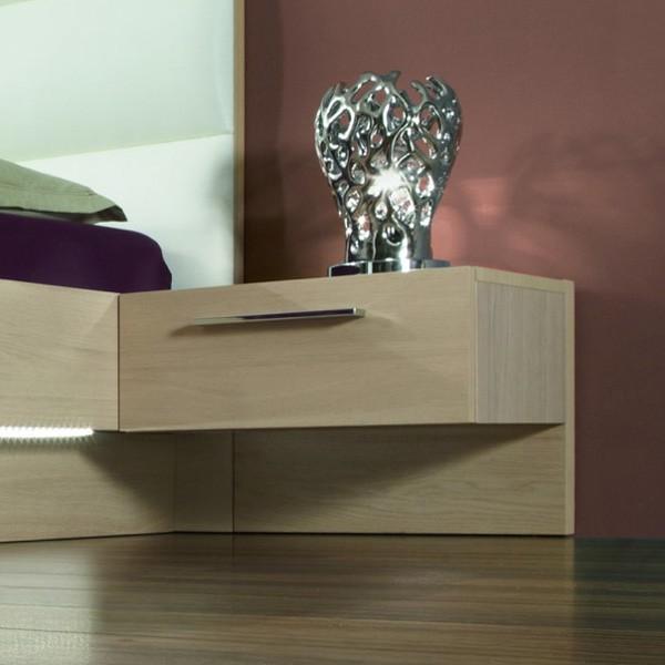 Noční stolek s zásuvkou - dýha světlý dub, Jitona