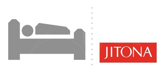 Postele Jitona - AKCE SLEVA 20%