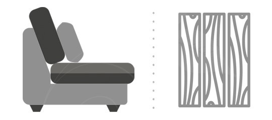 Rozkládací postele lamino