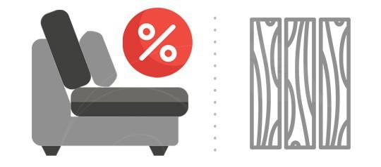 AKCE rozkládací postele s matracemi LAMINO - záruka 10 let