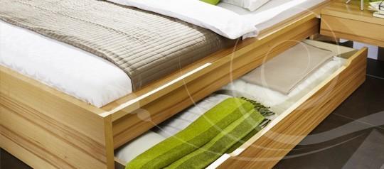 Úložné prostory pod postel