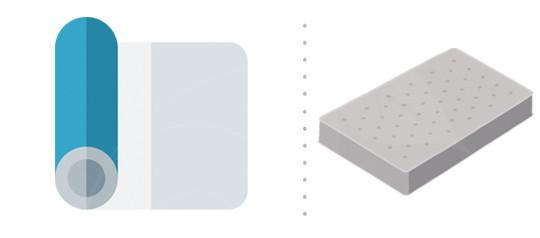 Toppery, krycí matrace