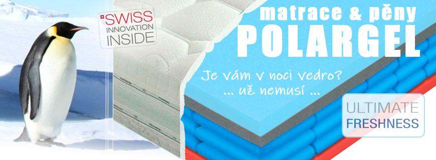 Matrace Polargel s chladivou pěnou