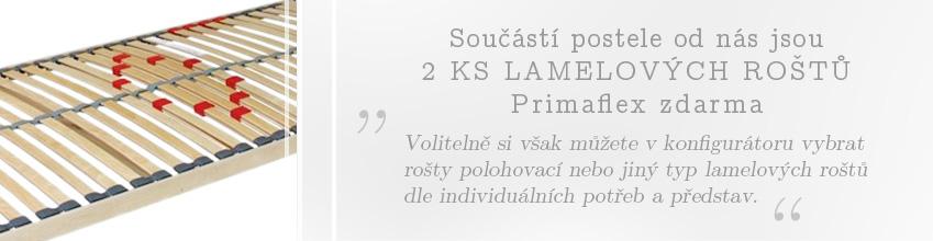 Lamelové rošty Primaflex k rozkládací posteli Tandem Ortho zdarma