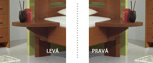 Varianty nočního stolku Viola
