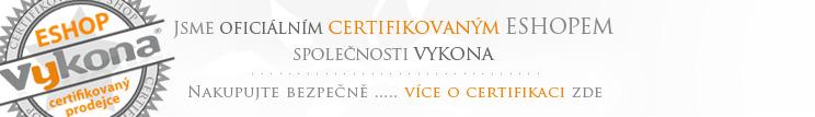Postele-Loznice jsou certifikovaným eshopem Vykona