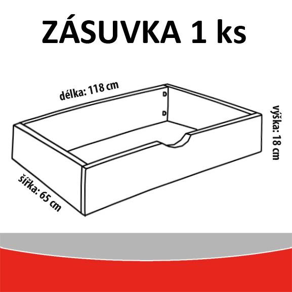 zásuvka (1 ks)
