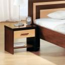 Noční stolek TAMARA II - masiv wenge, FMP Lignum
