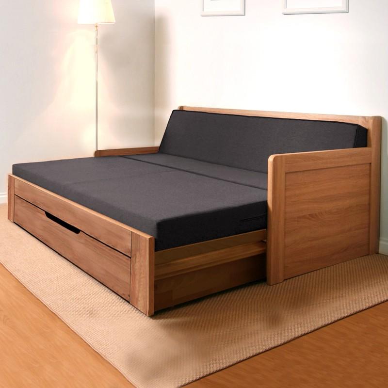 Rozkládací postel SOFA TANDEM PLUS rohová, BMB