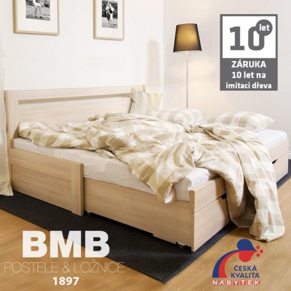 Rozkládací postel TINA TANDEM KLASIK lamino, BMB