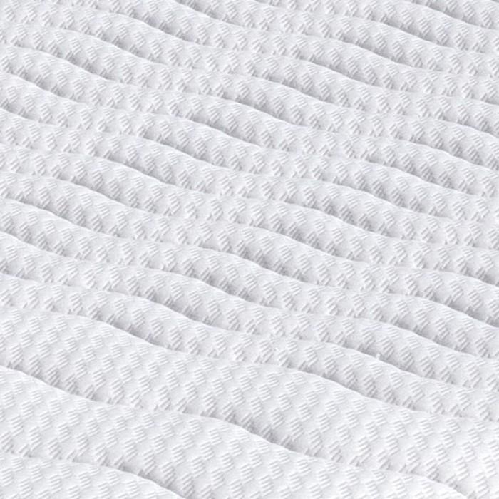 Matrace MALAGA k rozkládací posteli - detail potahové látky úplet