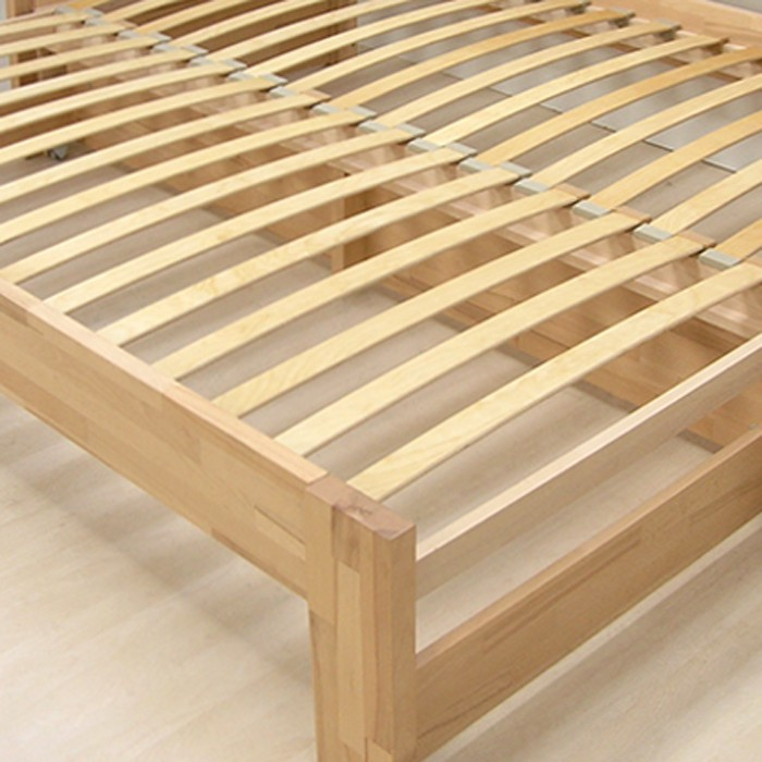 Rozkládací postel LUKE TANDEM PLUS - ukázka lamelového roštu, BMB
